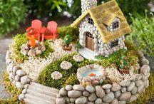 miniatyr landskap