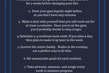 Healthy Living and Fitness / This board contains workout, diet, and healthy living tips from At Home With The Ellingtons