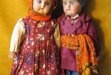 Antique Russian dolls