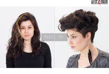 Glam & Rock / Zmiany, zmiany, zmiany...najlepiej duże, bo z długich włosów na krótkie! Mocna dekonstrukcja z zachowaniem objętości włosów jest możliwa! Beata Berendowicz udowadnia, że dzięki odpowiedniemu strzyżeniu można stworzyć dwie stylizacje przy jednoczesnym podkreśleniu naturalnego skrętu włosa. Glam & rock!   Kategoria: Strzyżenie damskie Technika: Zmiana długości i objętości z undercutting'iem i dekonstrukcją Edukator: Beata Berendowicz