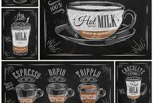 Kávézó itallap