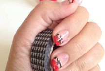 Nails by AF0093. / Find my YouTube channel AF0093 for coming up simple nail tutorials.  Follow my Instagram: Bokehnerd