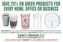 25% FRIEND discount / Use coupon code FRIEND and get 25% off every order at http://LetsGoGreen.biz!