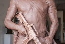 Sculpture Schaefer Art Bronze did / by Cookie Hunt Rice