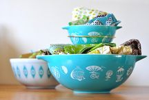 Pretty in Pyrex / by Barbara Hartmann