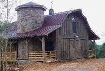 Ranch/Farm Barns, Out Buildings / I love Barns...... / by Sandra Gregory