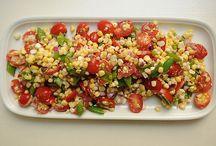 Vegetable salads