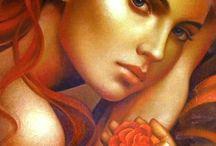 kobieta art