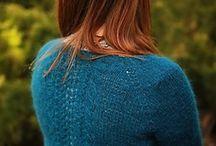 Knitting-cardigan