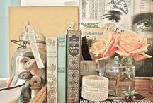 I LOVE | Decorating with Books