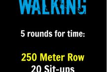 Workout: Rowing Machine