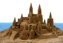 Sand Castles And Art / by Gina Latner