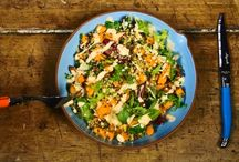 Vegetarian Delights / Vegetarian doesn't mean boring: you can find lots of amazing sources of proteins and nutrients in vegetables. Even the meat-lovers will get hooked on these recipes!