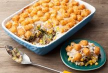 The Main Course: Casseroles / The centerpiece of most meals . . .  / by Susy Slais