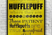 Harry Potter but mainly Hufflepuff