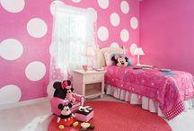 Minnie Mouse kislány szobák
