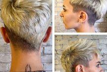 under cut hair