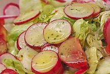 Salatsoße und Dips