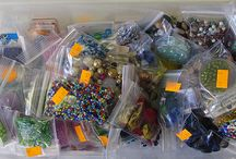 Beads / We have beads at the Scrap Box
