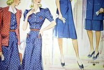 A 40-es évek divatja.