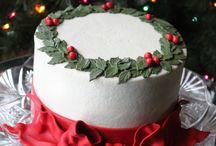 chrismas cake / chrismas
