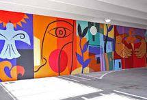 Murals x