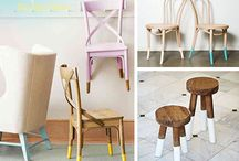 Add some WOW to Chairs / Ways to add some personality to chairs