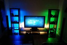 man cave / game room