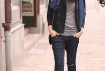 My style! Love it! / Zwart/wit en jeans
