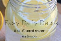 Detox Drinks / Detoxing the body