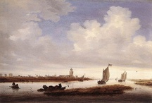 Paintings: Ruysdael Salomon and Jacob