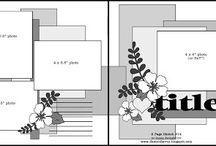 Scrapbooking - Layout Designs