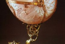 Sidef / Obiecte decorative din sidef