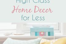 Cheap Home Decor / Want to decorate your living space beautifully on a budget? These cheap home and apartment decor ideas are your best bet. Find inspiration and tips on how to score the best deals here!