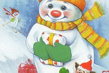 Christmas Snowman / by Louise Watts