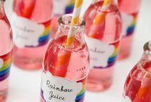 Fiesta Arcoíris, Supertribus / Ideas para organizar la mejor Fiesta de temática Arco Iris.  Ideas for Rainbow Parties.