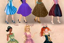 Разные годы принцесс