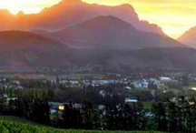 Franschhoek / If there is one place on earth to choose to live, I would return to Franschhoek!