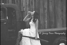 Wedding fishing/hunting