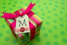 Gift Wrap Ideas / by Drea Lea