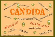 Candida info for Sammi / by Anne Lynch