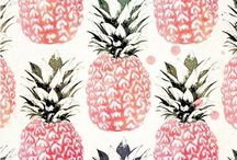 Pineapple patterns
