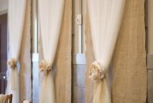 Wedding draping ideas