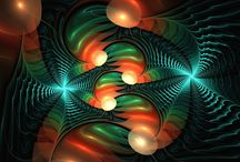 Fractal love / A natural phenomenon - a never-ending pattern. Explosion of beauty.
