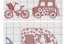 cross stitch, pattern, etc
