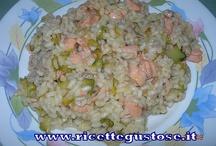 Primi piatti - ricette risotti / Ricette risotti facili e gustosi, ricette primi piatti http://www.ricettegustose.it/Primi_risotti_index.html