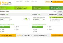 Amronet.pl kalkulator walut