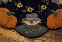 Penny rug patterns I love
