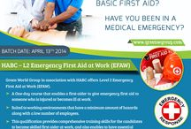 First aid course in Chennai - greenwgroup / Green world group is offering for First aid course in Chennai, India at affordable cost.