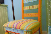 krzesła dekor